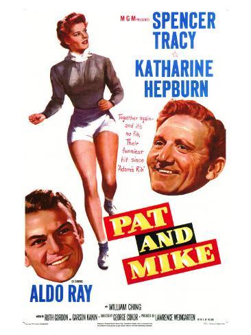 Pat and Mike, 1952 Art Print
