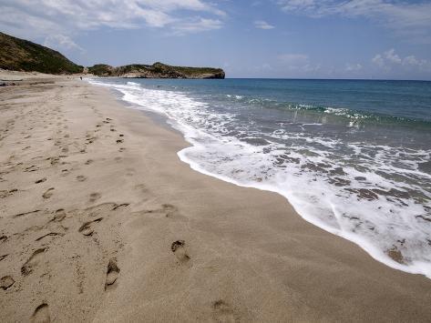 Patara Beach, Near Kalkan, Anatolia, Turkey, Asia Minor, Eurasia Photographic Print