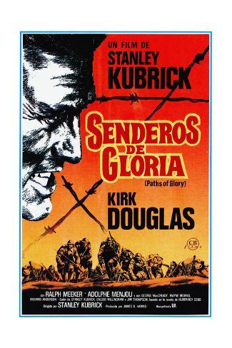 Paths of Glory, (AKA Senderos De Gloria), Kirk Douglas, 1957 Giclee Print