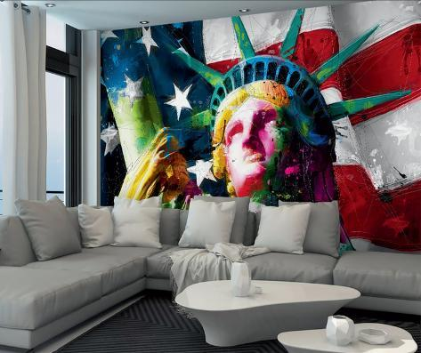 Patrice Murciano Statue of Liberty Wall Mural Mural de papel de parede