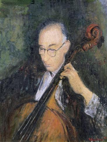 My Cellist, 1996 Giclee Print