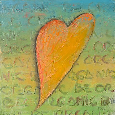 Be Organic II Art Print