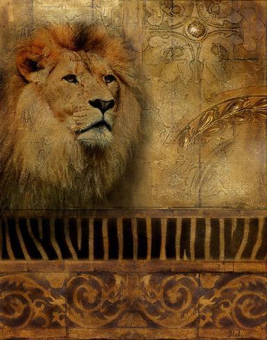 Elegant Safari IV Art Print