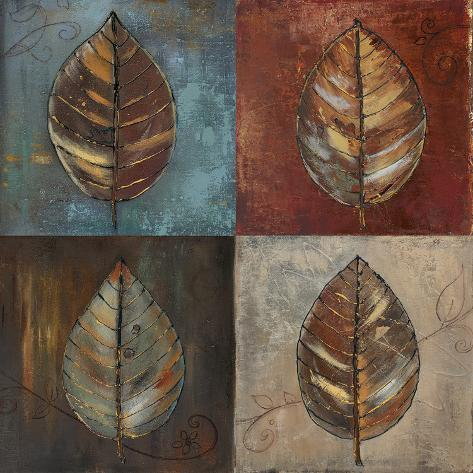 New Leaf Patch II Art Print