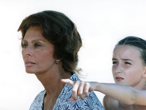 Sophia Loren and Salomé Stévenin: Soleil, 1997 Stampa fotografica