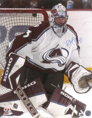 Patrick Roy Colorado Avalanche Autographed Photo (Hand Signed Collectable) Photo