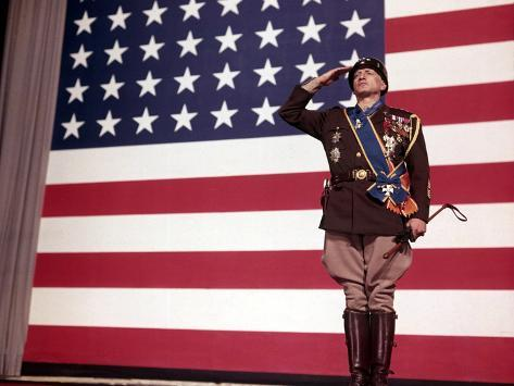 Patton, George C. Scott, 1970 Fotografia