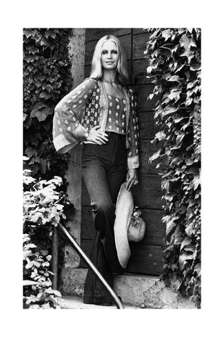 Patty Pravo in Sirmione Stampa fotografica