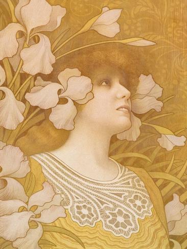 Sarah Bernhardt, 1901 Giclee Print