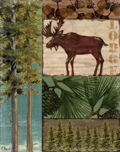 Nature Trail I Art Print