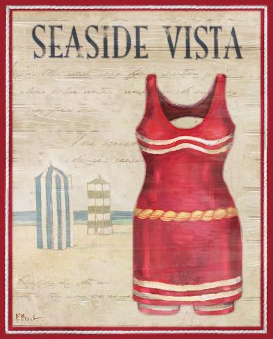 Seaside Vista Art Print