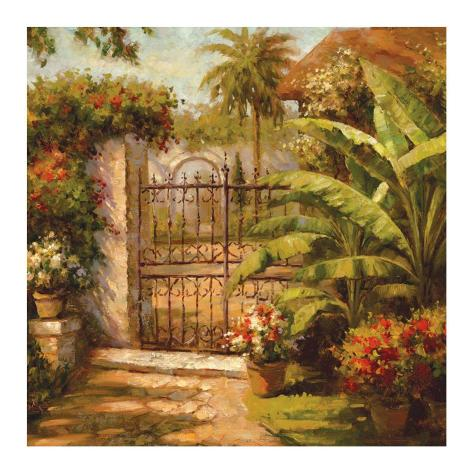 Entrance to the Guesthouse Art Print