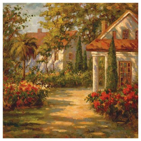 Sunlit Path Art Print