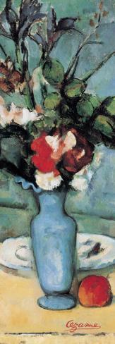 Blue Vase (detail) Reproducción de lámina sobre lienzo