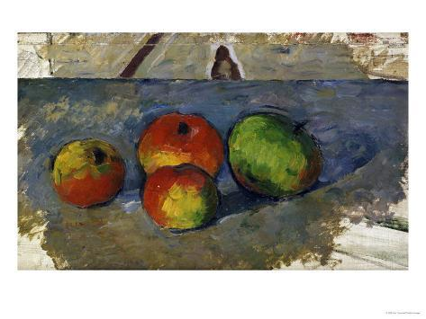Four Apples, circa 1879-82 Giclee Print