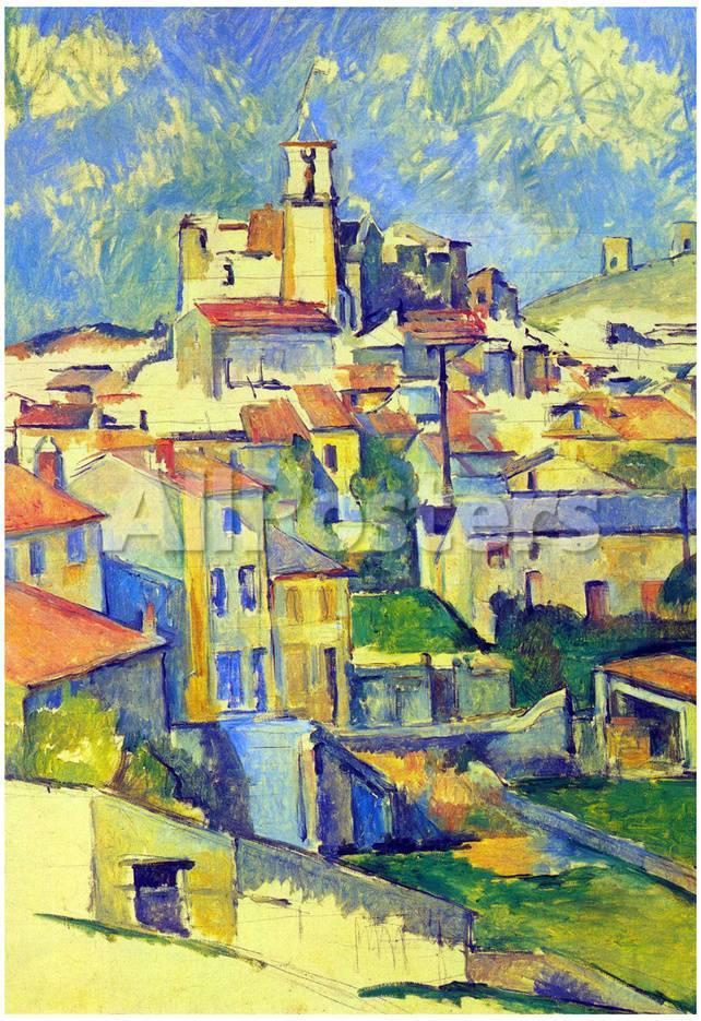 Paul Cezanne Gardanne Art Print Poster Pósters en AllPosters.es
