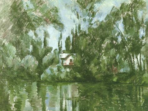 House on the Banks of the Marne, 1889-90 Giclee Print