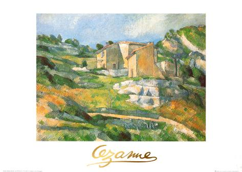 Houses At the Estaque Art Print