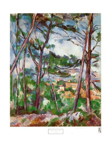 Landscape Near Aix Art Print