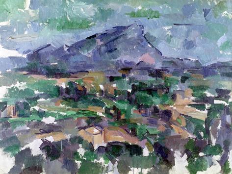 Montagne Sainte-Victoire, 1904-06 Giclee Print