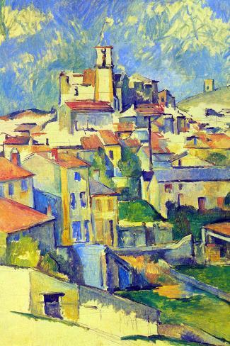 Paul Cezanne Gardanne Art Print