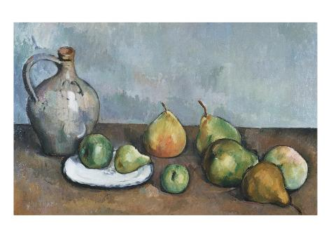 Pitcher and Fruit Giclée-vedos