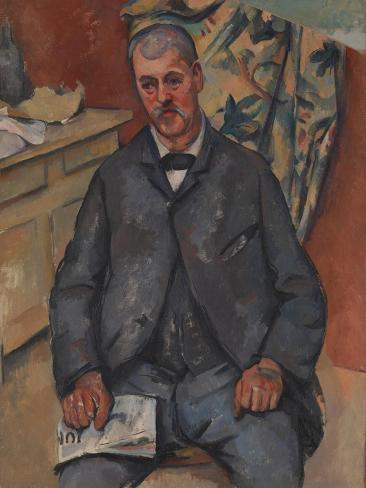 Seated Man Lámina giclée