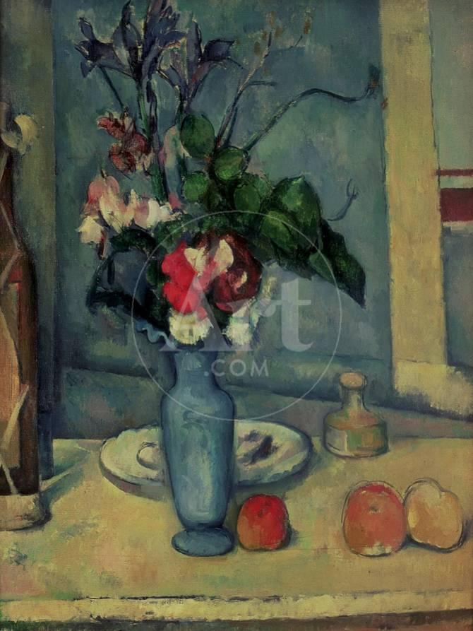 The Blue Vase 1889 90 Giclee Print By Paul Czanne At Allposters