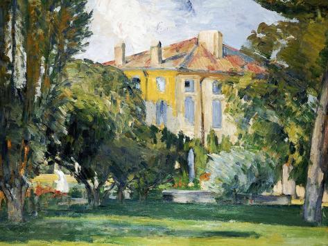 The House at Jas de Bouffan, 1882- 1885 Giclee Print