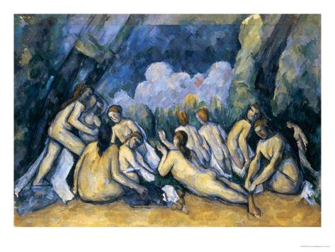 The Large Bathers, circa 1900-05 Giclee Print