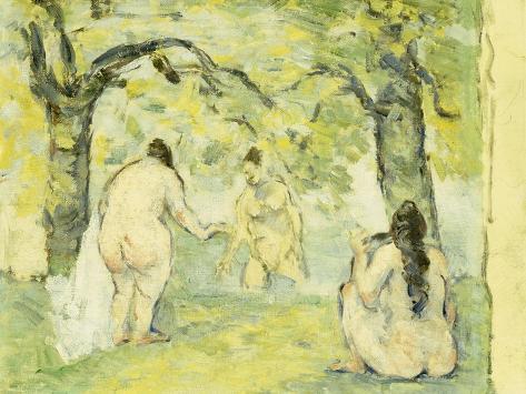 Three Bathers, 1875-77 Giclee Print