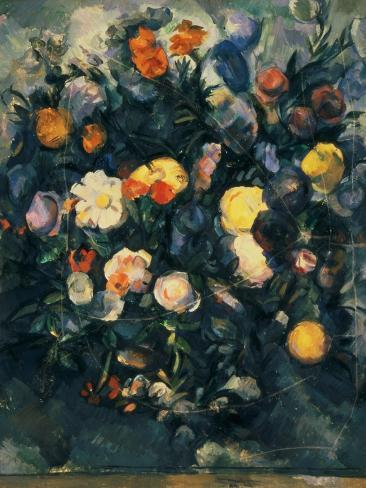 Vase of Flowers, 19th Giclee Print