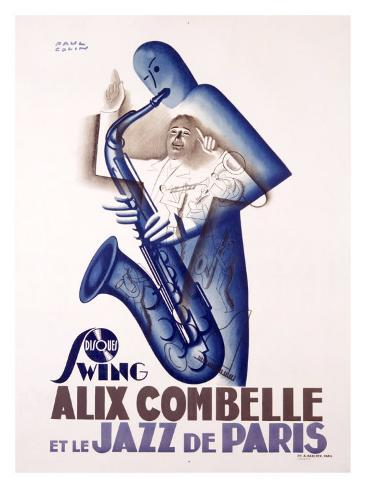 Alix Combelle Giclee Print