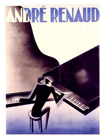 Andre Renaud Giclee Print