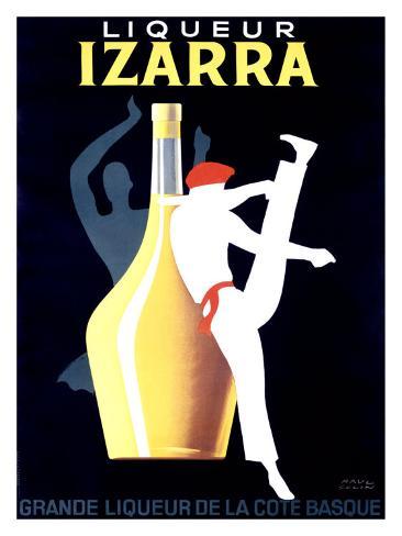 Liqueur Izarra Giclee Print