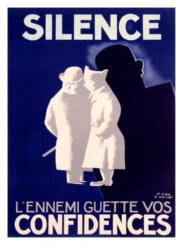 Silence Giclee Print