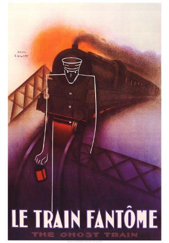 Train Fantome Art Print