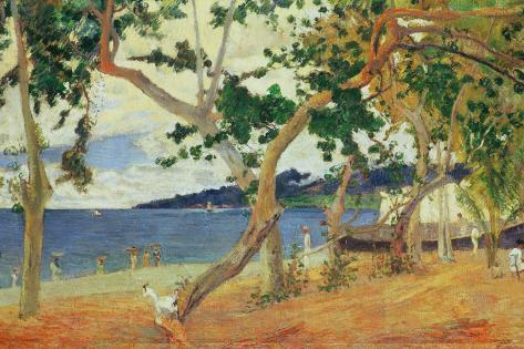 By the Seashore, Martinique, 1887 Giclee Print