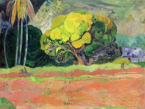 Fatata Te Moua, 1892 Giclee Print
