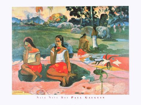 Nave Nave Moe - Sacret Spring , Sweet Dreams , 1894 Art Print