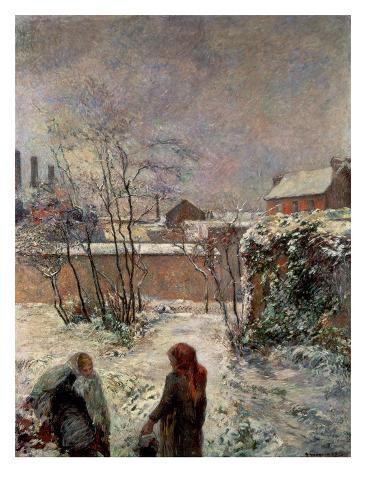 Rue Carcel, 1883 Impressão giclée
