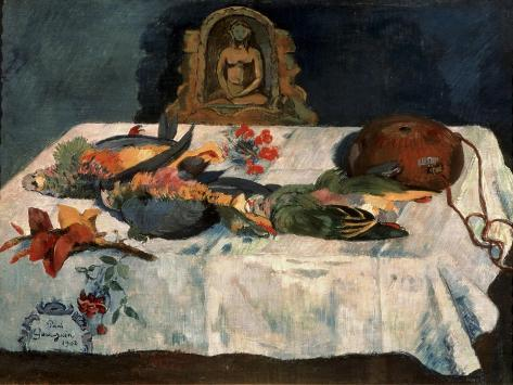 Still Life with Parrots Giclee Print
