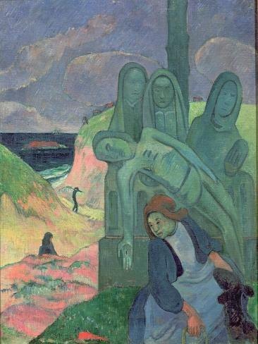 The Green Christ Lámina giclée