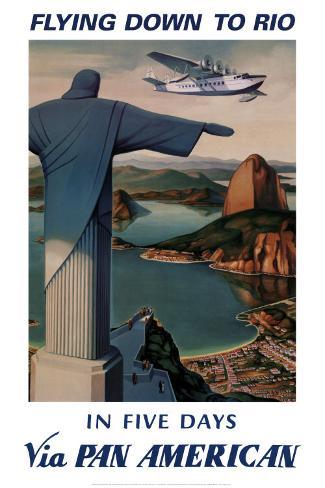 Flying Down to Rio Art Print