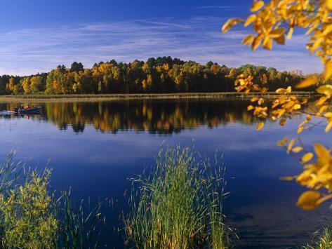 Minnesota, Lake Winnibigoshish, Chippewa National Forest, Northern Minnesota, USA Photographic Print