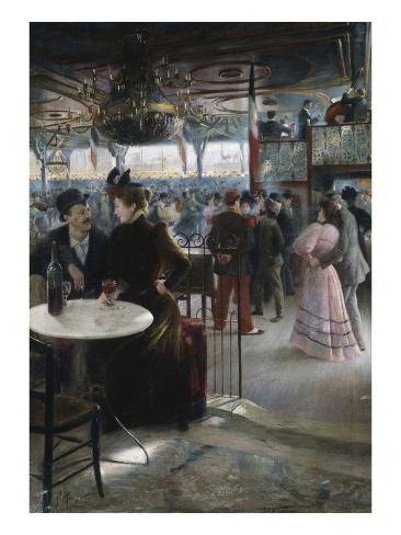Moulin de la Galette Giclee Print
