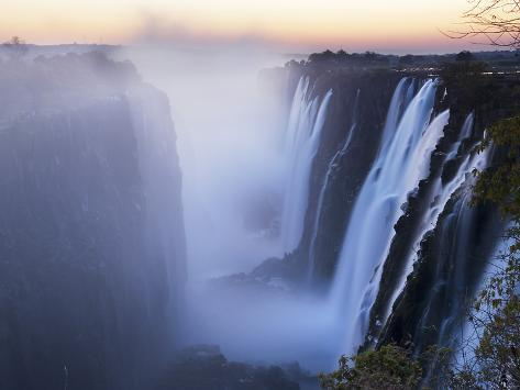 Victoria Falls, Zimbabwe Photographic Print