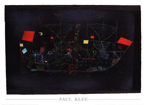 Abenteuer-Schiff, 1927 Art Print