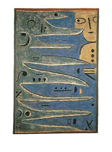 Der Graue und Die Kuste, c.1938 Art Print