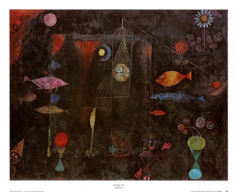 Fish Magic Art Print